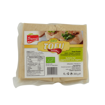 Био тофу натурално Soyavit- 200гр