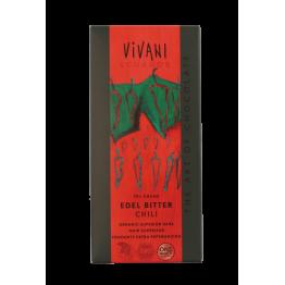Натурален шоколад с чили Vivani - 100 гр