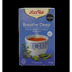 Аюрведа чай за дишането Yogi Tea - 17 сашета