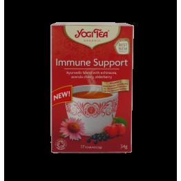Аюрведа чай за подкрепа на имунитета Yogi Tea - 17 сашета