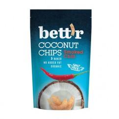 Био кокосов чипс с чили Bettr - 70 гр