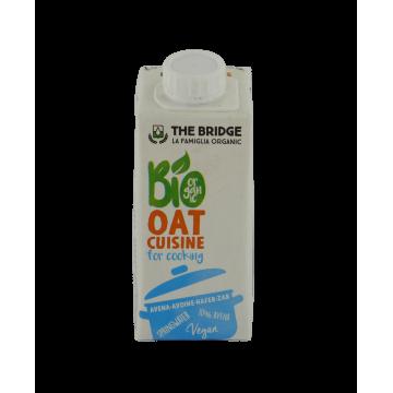 Био овесен крем, алтернатива на сметаната без мляко The bridge - 200 мл