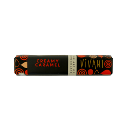 Био шоколадов бар с карамелов пълнеж Vivani - 40 гр