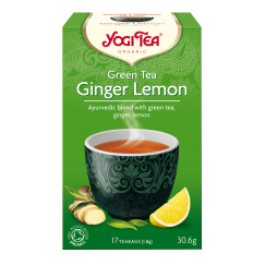 Аюрведичен чай зелена енергия Yogi Tea - 17 сашета