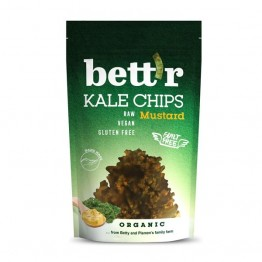 Кейл чипс с горчица и лук Bett'r - 30 гр