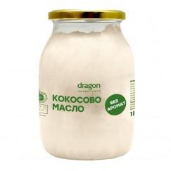 Кокосово масло без аромат Dragon Superfoods - 1 л