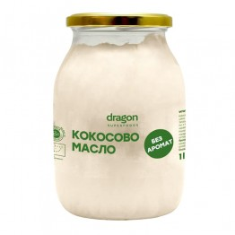 Кокосово масло без аромат Dragon Superfoods - 1 л