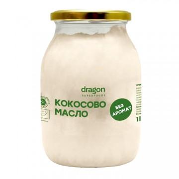 Кокосово масло без аромат 1000 мл - Dragon Superfoods