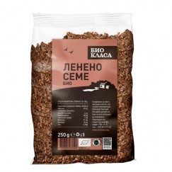 Ленено семе Био Класа - 250 гр