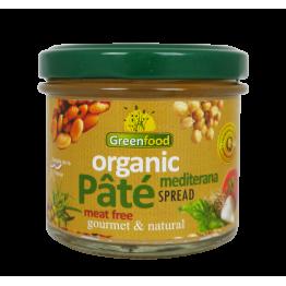 Веган пастет медитеранс 125 гр - Greenfood