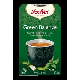 Аюрведа чай зелен баланс Yogi Tea - 17 сашета