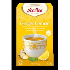 Аюрведа чай джинджифил и лимон Yogi Tea - 17 сашета
