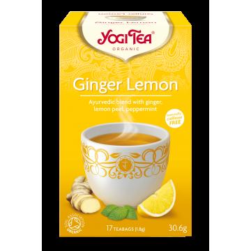 Йоги чай джинджифил и лимон