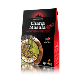 ЧАНА МАСАЛА (Пикантно вегетарианско къри с нахут) Spizing - 31 гр
