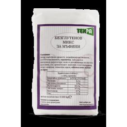 Безглутеново брашно-микс за мъфини Техра - 500 гр
