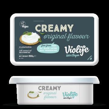 ВЕГАН крема сирене натурално Violife - 200гр