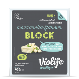 Веган кашкавал за пица моцарела Violife - 200 / 400 гр