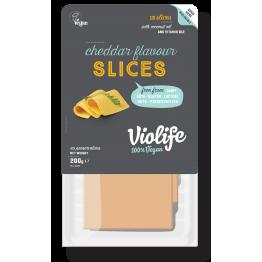 Веган кашкавал слайс с вкус на чедър Violife - 200 гр