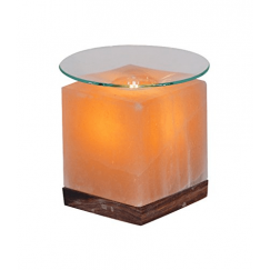 Арома-лампа - куб от хималайска сол, 1.9 kг.
