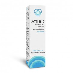 Акти Б12 (метилкобаламин) / Acti B12 (methylcobalamin) - 1000 mcg / 5000 mcg
