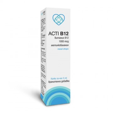Акти B12 1000 (метилкобаламин) / Acti B12 1000 (methylcobalamin)