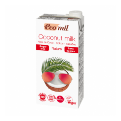Био кокосово мляко без захар Eco Mil - 1 л