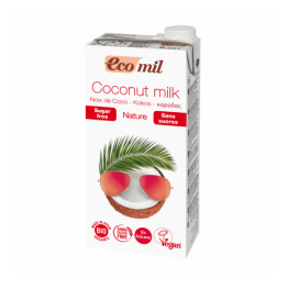 Кокосова напитка без захар 1000 мл - Eco Mil