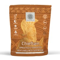 Микс от покълнали семена, зърнени и бобови култури на прах Chieftain Ancestral Superfoods - 200 г