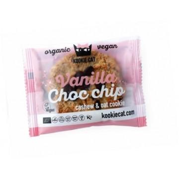 Курабийка с ванилия и парченца шоколад Kookie Cat - 50 гр