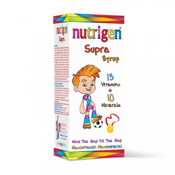 Мултивитаминен сироп за деца Nutrigen - 200 ml