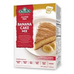 Безглутенова смес за бананов кекс с карамелена заливка Orgran - 525 гр