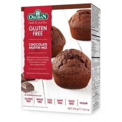 Готова смес за безглутенови шоколадови мъфини Orgran - 375 гр