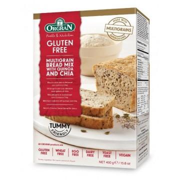 БЕЗГЛУТЕНОВ микс за алтернативен пълнозърнест хляб Orgran - 450гр