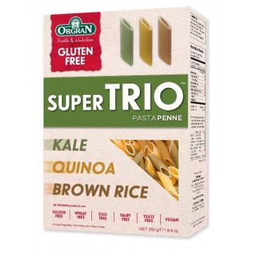 БЕЗГЛУТЕНОВО супер трио - паста пенне от кафяв ориз, киноа и кейл -Orgran - 250гр
