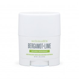 Натурален дезодорант стик за път Бергамот и Лайм  Schmidt's - 19.8 гр