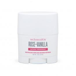 Натурален дезодорант стик за път Роза и Ванилия Schmidt's-19.8 гр