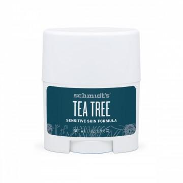 Натурален дезодорант стик за чувствителна кожа Чаено дърво Schmidt's - 19.8 г