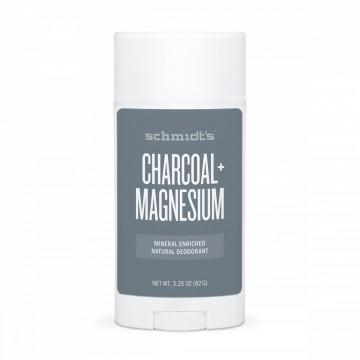 Натурален дезодорант стик Въглен и Магнезий Schmidt's - 92 г