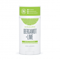 Натурален дезодорант стик  Бергамот и Лайм  Schmidt's - 92 гр
