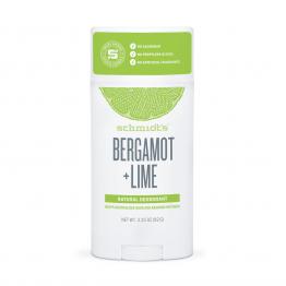 Натурален дезодорант стик  Бергамот и Лайм  Schmidt's - 92г