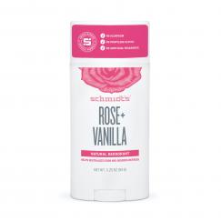 Натурален дезодоран стик Роза и Ванилия Schmidt's - 92 гр