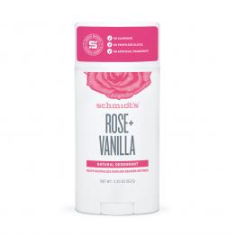 Натурален дезодоран стик Роза и Ванилия Schmidt's - 92г