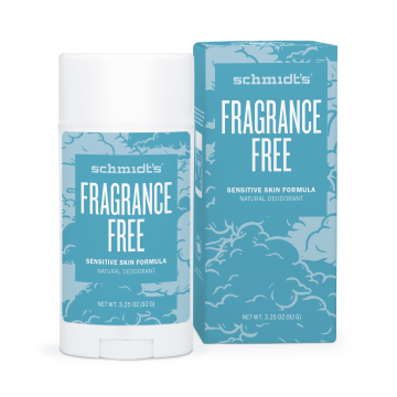 Натурален дезодорант стик за чувствителна кожа Без Аромат Scmidt's-92 гр