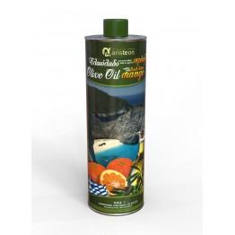 Маслиново масло екстра върджин с портокалов вкус Aristeon - 500 мл