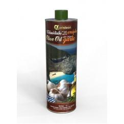Маслиново масло екстра върджин с чеснов вкус Aristeon - 500 мл