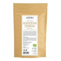 Конопени семена белени сурови 125 гр - Zoya BG