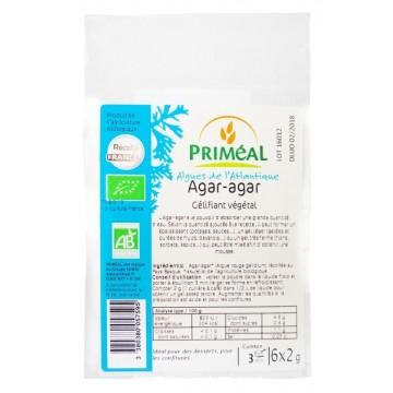 Агар-Агар на прах 6х2г. Primeal