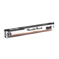 Бамбукова четка за зъби черна (мека) - Humble Brush