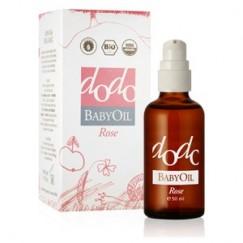 Бебешко масло ДОДО Роза 100% Био Ecomaat - 50мл