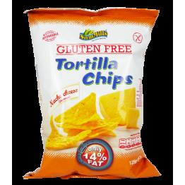 Безглутенов тортила чипс с вкус на Сирене Sam Mills - 125 гр